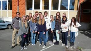 Alle Schüler, die in der Bretagne leben werden