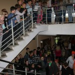 So sieht es aus, wenn ein Event in der Schule stattfindet.