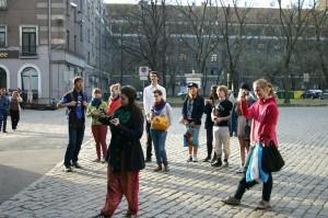 Touristen in Riga
