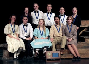 One Act Subsection champs