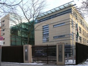 Die südafrikanische Botschaft in Berlin