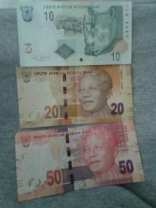 R10, R20 und R50 von vorne