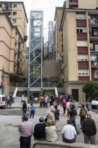 Einige der Aufzüge in Ermua